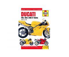 Revue technique Haynes en Anglais Ducati 916 916