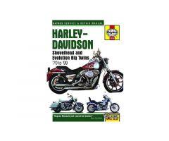Revue technique Haynes en Anglais Harley Davidson FXST 1340 / FXD 1340 ...