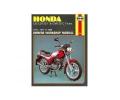 Revue technique Haynes en Anglais Honda CB 125 T / CB 125 T2 ...