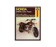 Revue technique Haynes en Anglais Honda CB 650 / CB 650 C ...