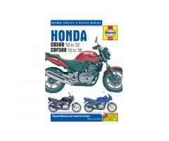 Revue technique Haynes en Anglais Honda CBF 500 / CB 500 ...