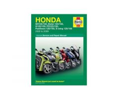 Revue technique Haynes en Anglais Honda SES 125 / NES 125 ...
