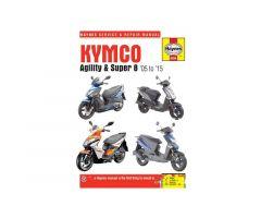 Revue technique Haynes en Anglais Kymco Agility 50 R12 4T / Agility 50 R10 4T ...