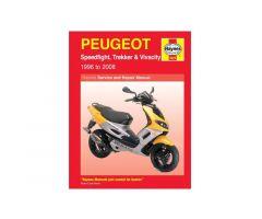 Revue technique Haynes en Anglais Peugeot Speedfight 50 2 LC 2T DD / Vivacity 50 ...