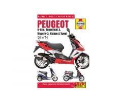 Revue technique Haynes en Anglais Peugeot V-Clic 50 / Kisbee 50 4T ...