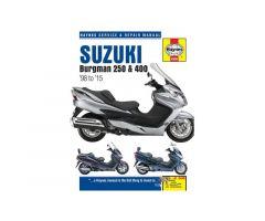 Revue technique Haynes en Anglais Suzuki AN 250 1998-1999 / AN 400 1999-2015