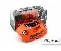 Etrier de frein avant Stage6 R/T 4 pistons Orange