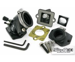 Kit d'admission Vulcanisé Stage6 17,5-21mm Piaggio