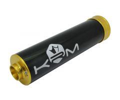 Silencieux d'échappement KRM 70-90cc Alu Or
