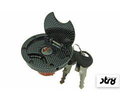 Bouchon de réservoir d'essence STR8 Look Carbone MBK Nitro