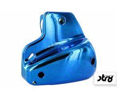 Capot de filtre à air STR8 Bleu Anodisé Peugeot Vertical