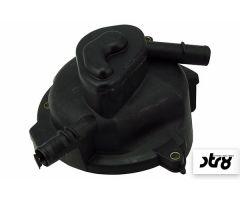 Cache carter de pompe à eau STR8 + volute Noir Peugeot Vertical LC