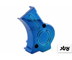 Cache carter de pompe à huile STR8 Lighty Bleu Anodisé Derbi Euro 2