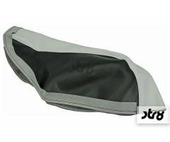 Housse de selle STR8 Noir / Blanc MBK Nitro