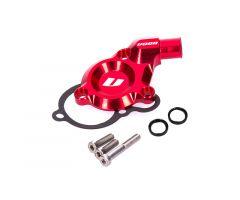 Couvercle de pompe à eau Voca CNC Derbi Euro 3 Rouge
